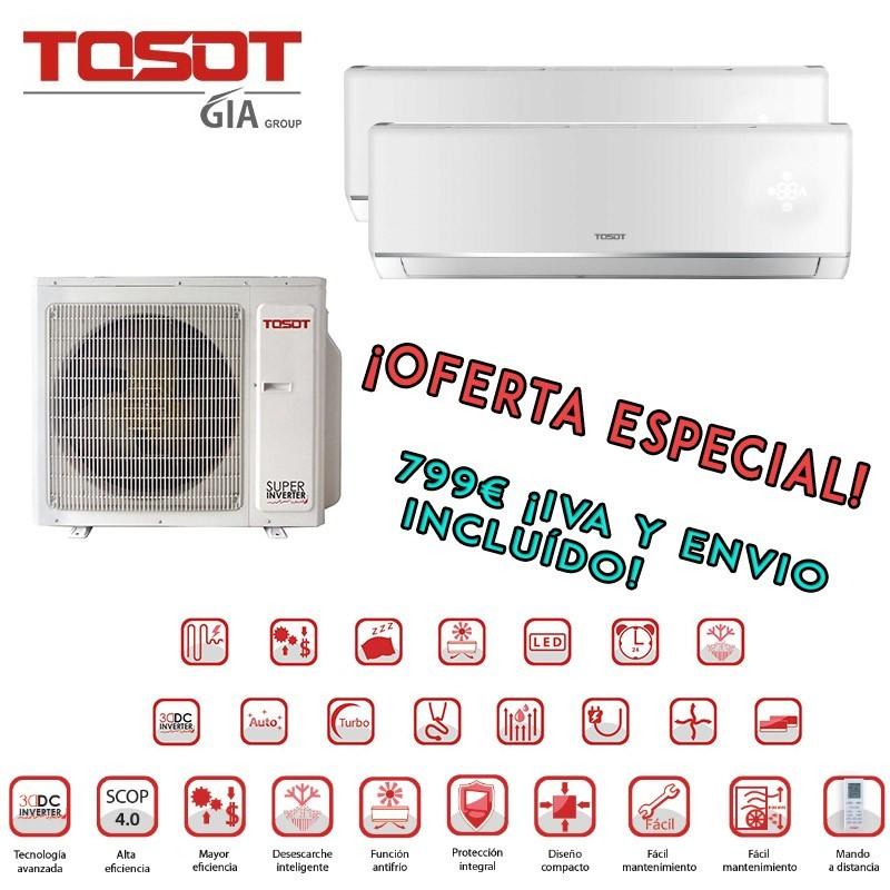 Tosot 3x1 TWHD18F-O2 + TWH09L2-C6D + TWH12L2-C6D