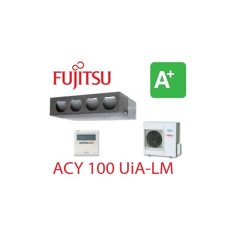 Aire Acondicionado Conductos Fujitsu Acy 100 Uia Lm