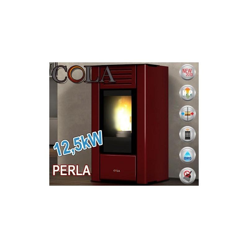 Termoestufa de pellets COLA TERMO PERLA 12,5 kW