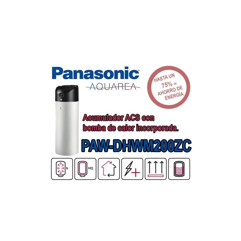 Bomba de calor ACS Panasonic Aquarea PAW-DHWM200ZC