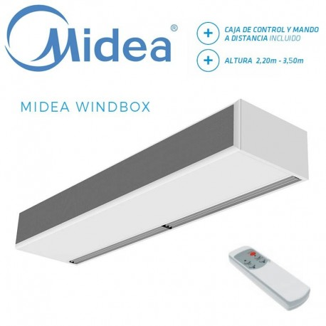 Cortina de Aire Midea WINDBOX ECM 1500A