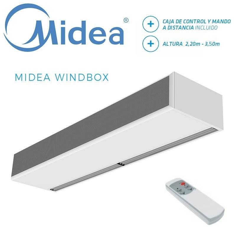 Cortina de Aire Midea WINDBOX ECM 1500A
