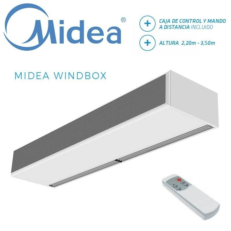 Cortina de Aire Midea WINDBOX ECM 2500 P86