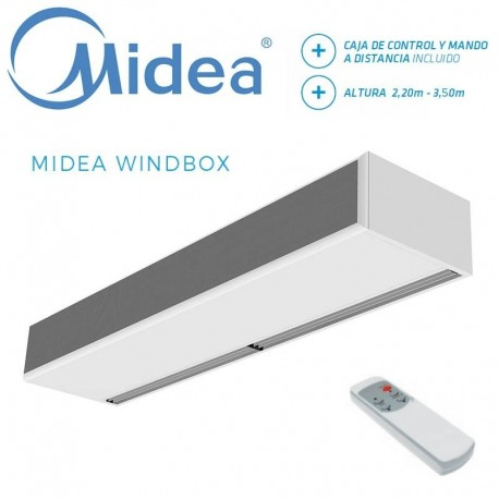 Cortina de Aire Midea WINDBOX ECM 2500 E