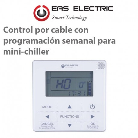 Control EAS EMCH-RC120 Mini-Chiller