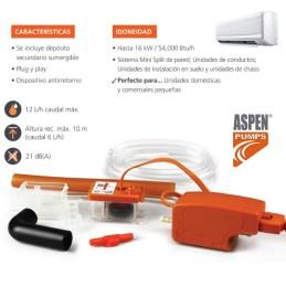 Bomba de condensación Aspen Pumps Mini Orange