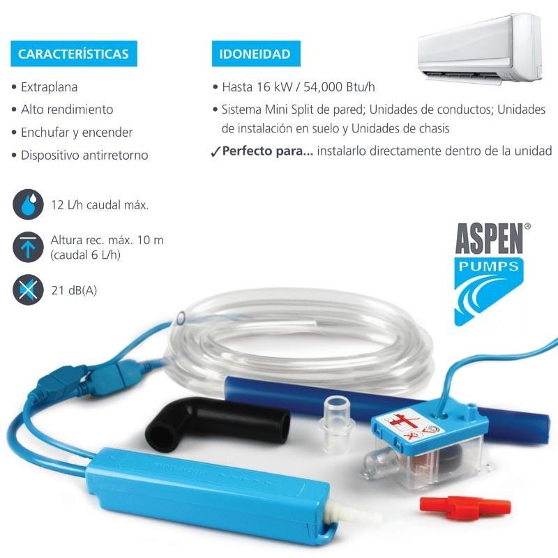 Bomba de condensación Aspen Pumps Mini Aqua