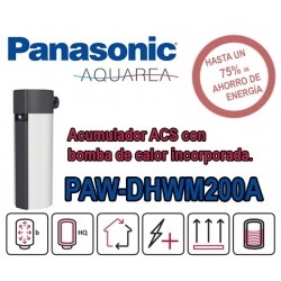 Bomba de calor ACS Panasonic Aquarea PAW-DHWM200A