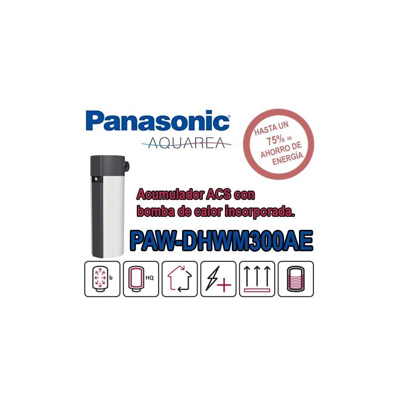 Bomba de calor ACS Panasonic Aquarea PAW-DHWM300AE