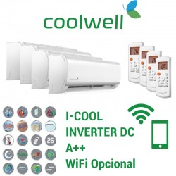 Coolwell 4x1 I-COOL 9 + 9 + 9 + 12 + 4X1C82K