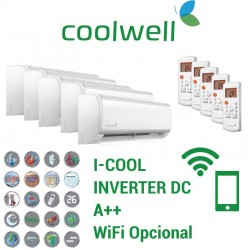 Coolwell 5x1 I-COOL 9 + 9 + 9 + 12 + 12 + 5X1C125K