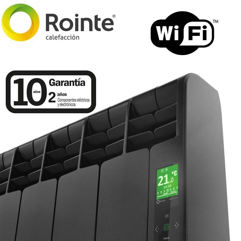 Radiador digital serie D ROINTE Negro forja