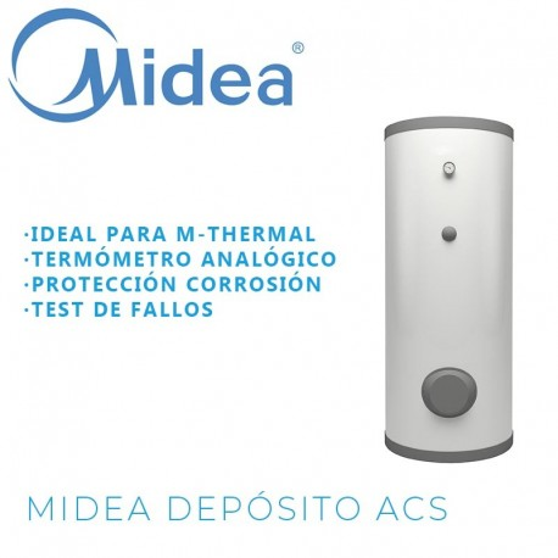 Midea BSX200 Depósito ACS