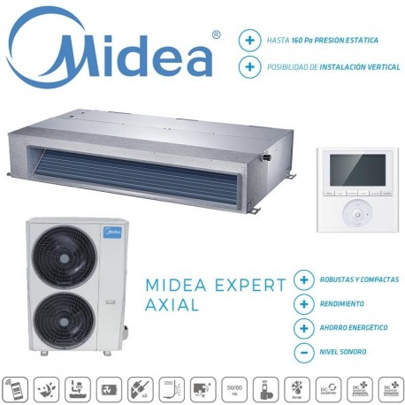 Midea Expert Conductos MTI-71(24)N1Q