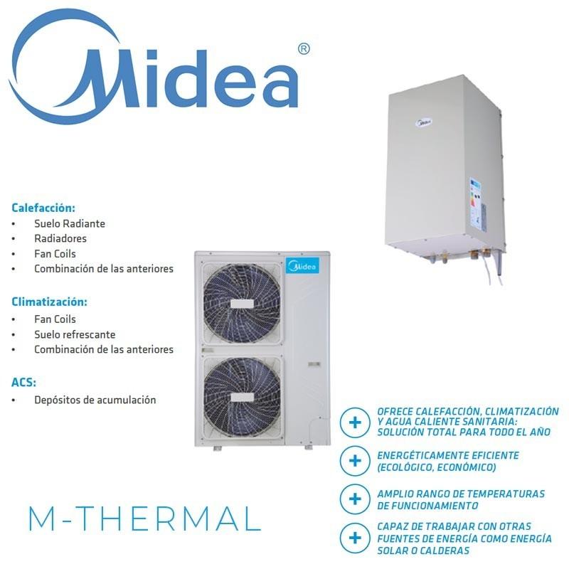Midea M-Thermal Bibloc MHA-V12W/D2N1