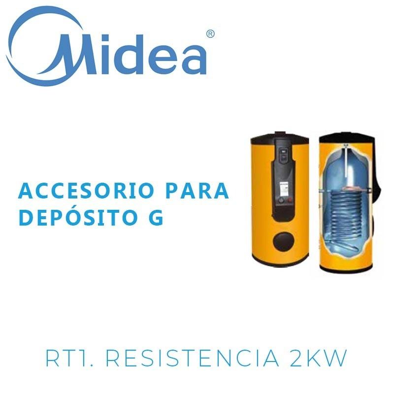 Midea RT1 resistencia 2 kW con termostato