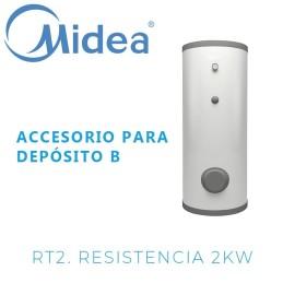 Midea RT2 resistencia 2 kW con termostato