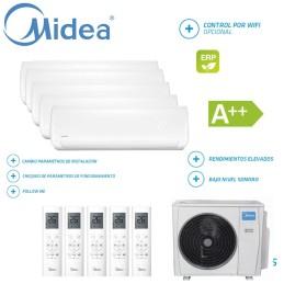 Midea Mission 5x1 M5OE-42HFN1-Q + 09 + 09 + 09 + 12 + 18