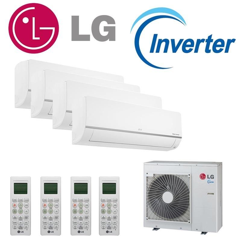 LG Confort Connect WiFi 4x1 PM07SP + PM07SP + PM07SP + PM12SP + MU4M25