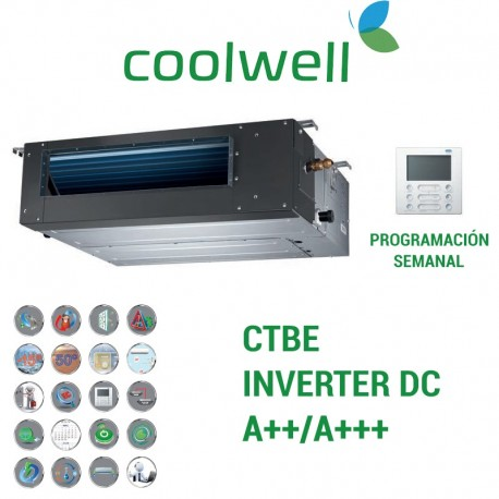 Coolwell Conductos CTBE-160 Trifásico