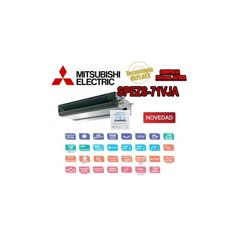 Mitsubishi Electric SPEZS-71VJA + PAR-31MAA