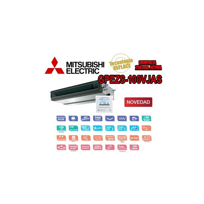 Mitsubishi Electric GPEZS-100VJA + PAR-31MAA
