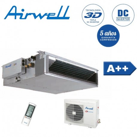 Airwell DLF024 Conductos