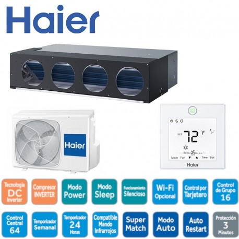 Haier AD36NS1ERA Conductos