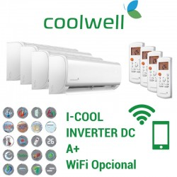 Coolwell 4x1 I-COOL 9 + 9 + 9 + 12 + 4X1C105K