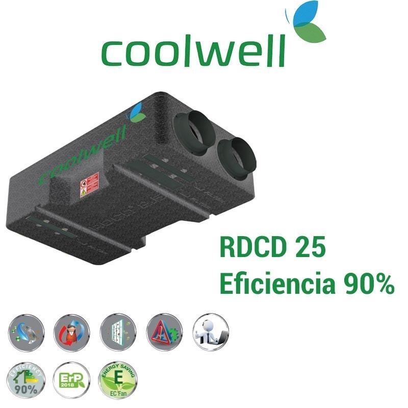 Recuperador de calor Coolwell RDCD 25