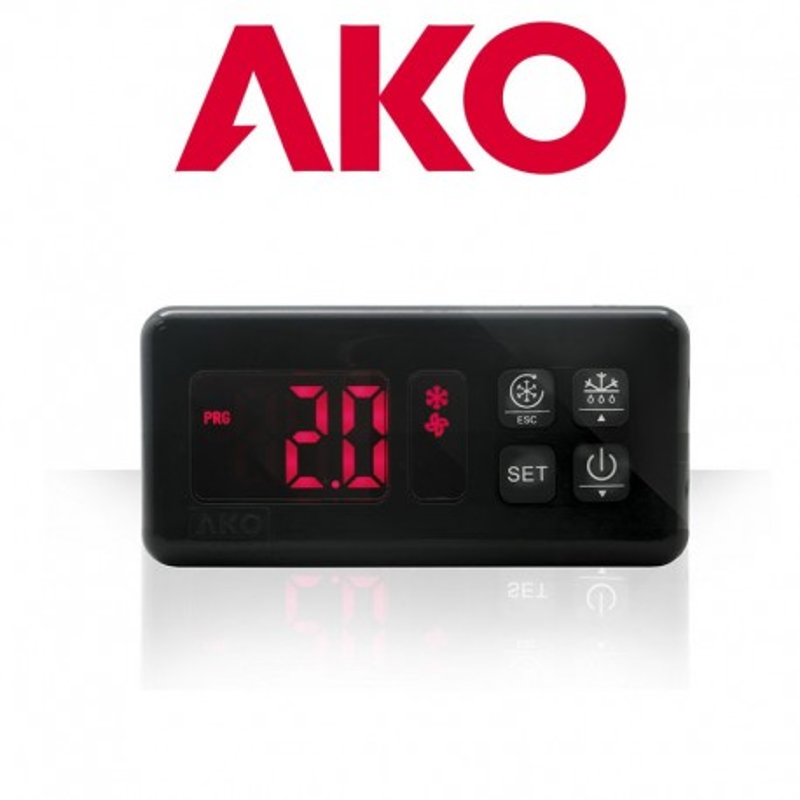 Termostato Digital panelable AKO-D14412-RC