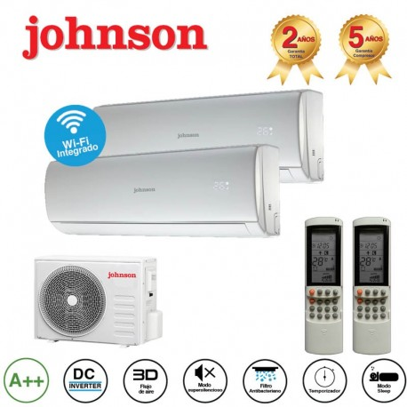 Johnson 2x1 JT218EX + 9 + 12