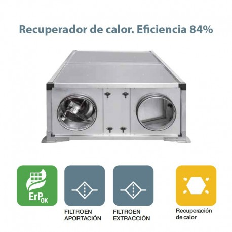 Recuperador de calor REMARK HE 900