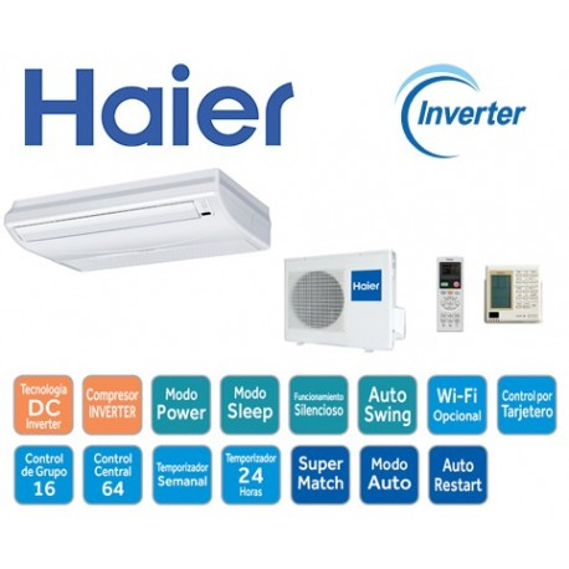 Haier AC18CS Inverter Techo