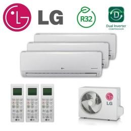 LG 3X1 PC09SQ + PC09SQ + PC12SQP + MU3R21 CONFORT CONNECT WIFI