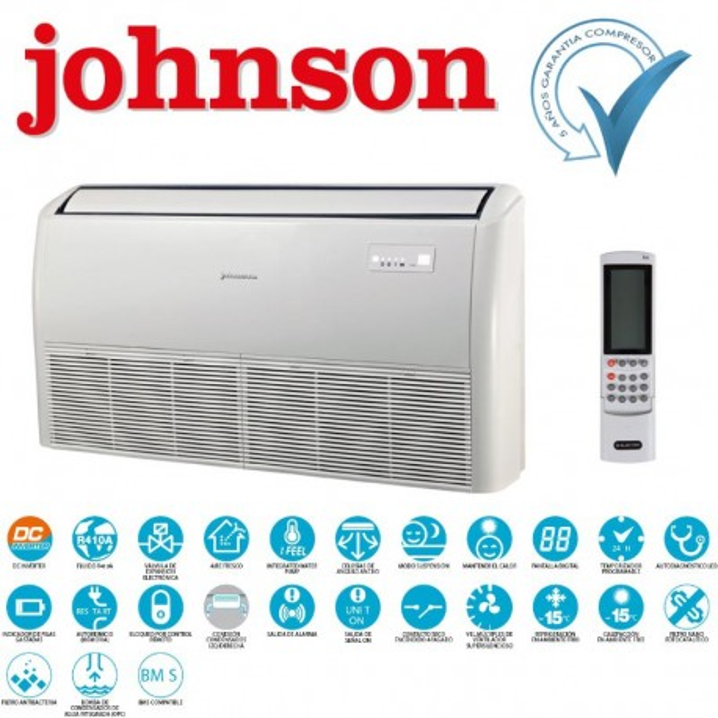 Johnson Suelo Techo DBF048-N11 Monofásico