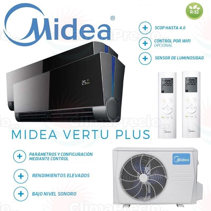 Midea Vertu Plus 2x1 M2OG-14HFN8-Q + 9 + 12
