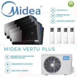 Midea Vertu Plus 4x1 M4OE-28HFN8-Q + 9 + 9 + 9 + 9