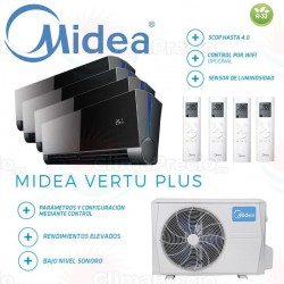 Midea Vertu Plus 4x1 M4OE-28HFN8-Q + 9 + 9 + 9 + 12