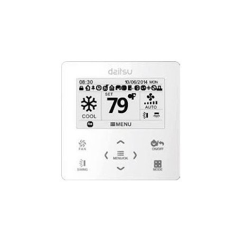 Termostato Daitsu ACCD_WC1 por cable 3NDA9048