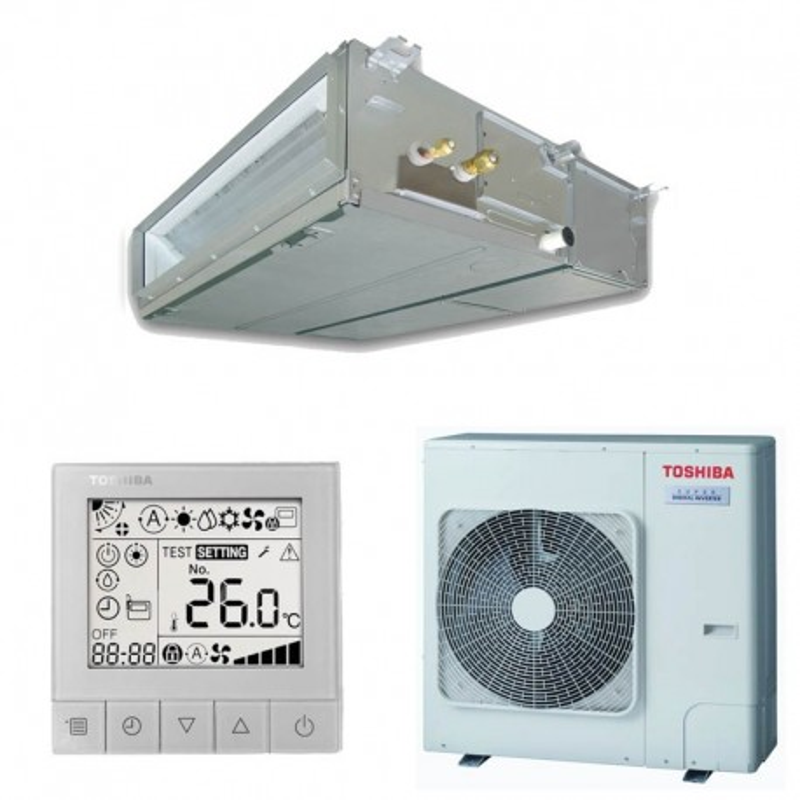 Toshiba SPA Inverter 110 Conductos