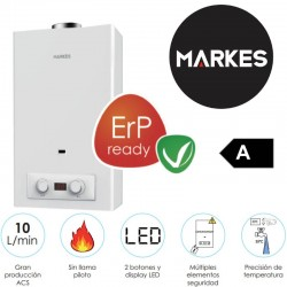 Calentador a gas MK-CLA-10MOD HTW Markes