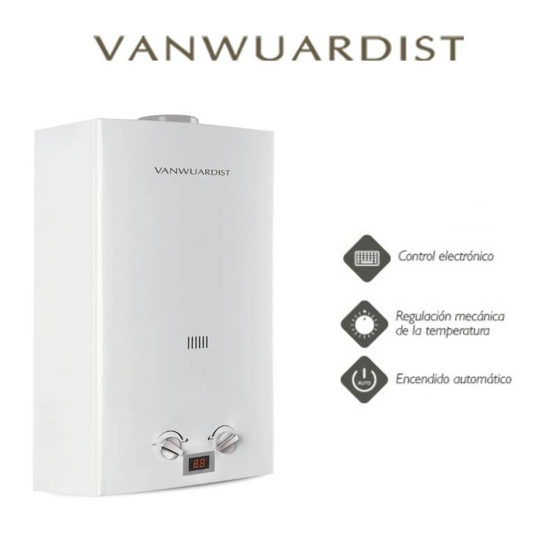 Calentador a gas Vanwuardist NAT 10 Atmosférico
