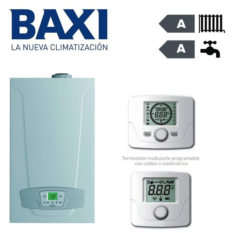Caldera de gas Condensación Baxi Platinum Compact ECO 24/24F