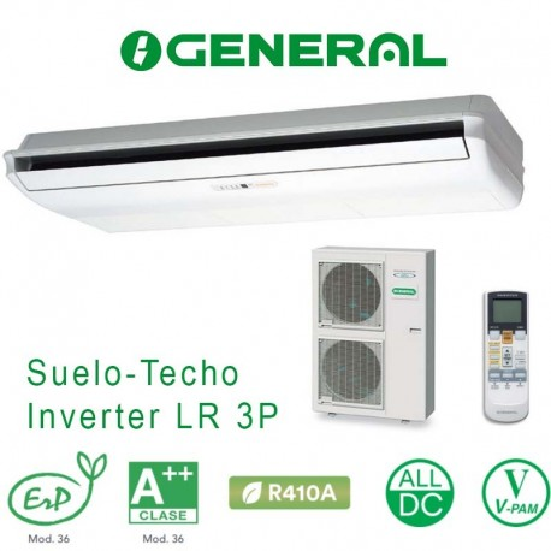 General ABG 54 UiAT-LR Suelo-Techo Trifásico