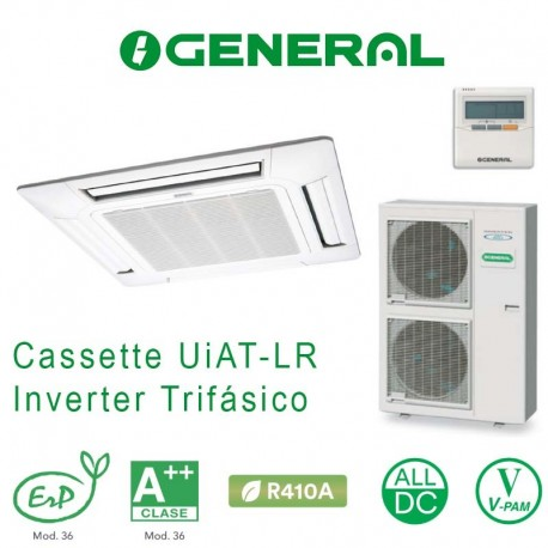 General AUG 54 UiAT-LR Cassette Trifásico