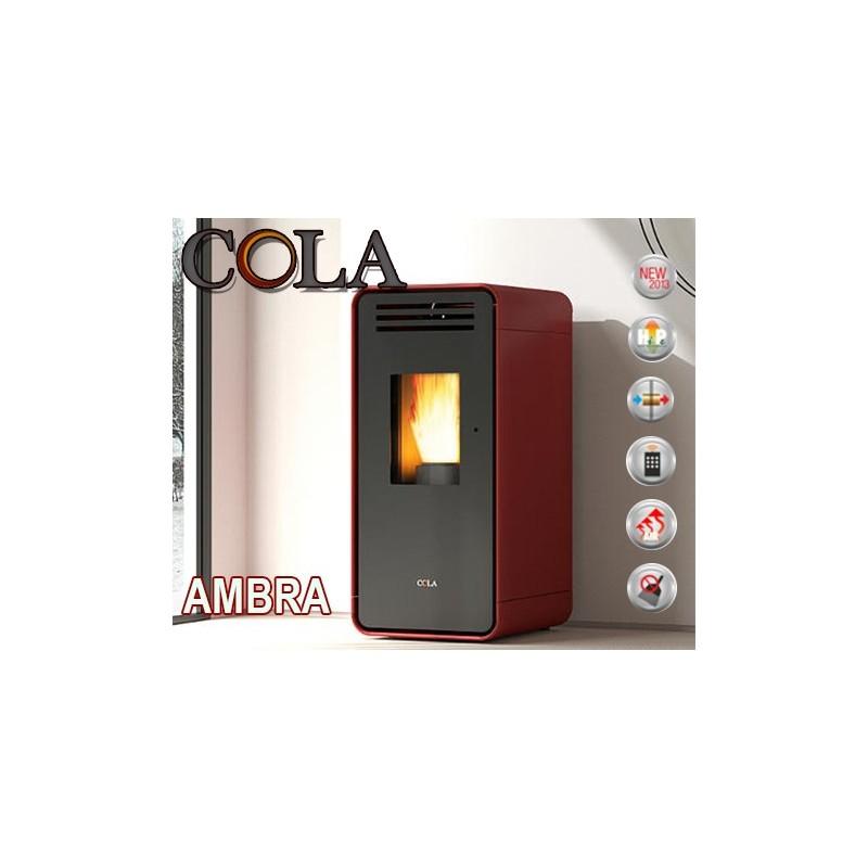 Estufa de Pellet Cola AMBRA 6,33 kW