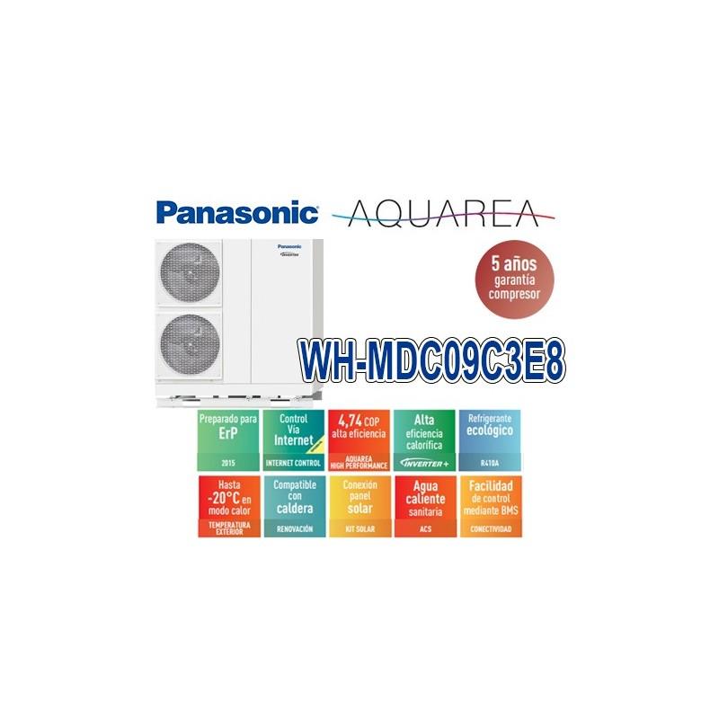 Panasonic Aquarea Mono-Bloc WH-MDC09C3E8