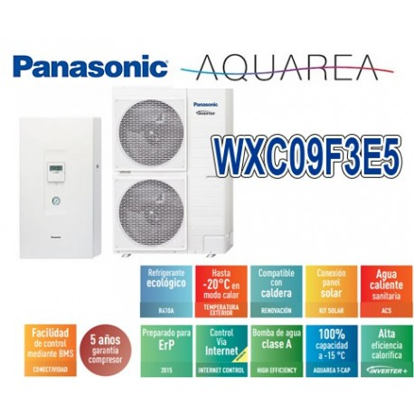 Panasonic Aquarea Bi-Bloc KIT-WXC09F3E5