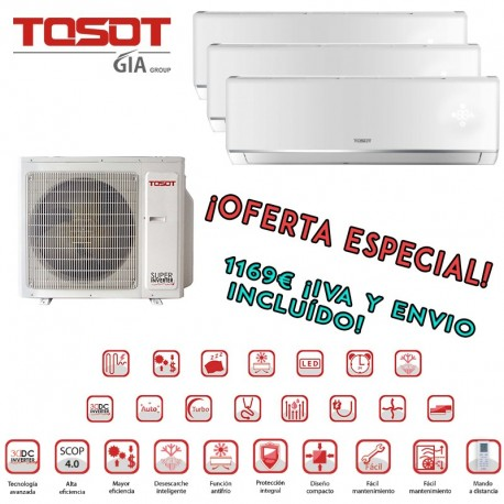 Tosot 3x1